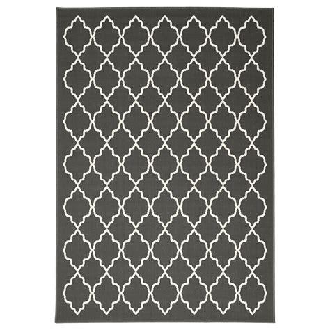 ikea white rug hovslund rug low pile dark grey 160x230 cm ikea