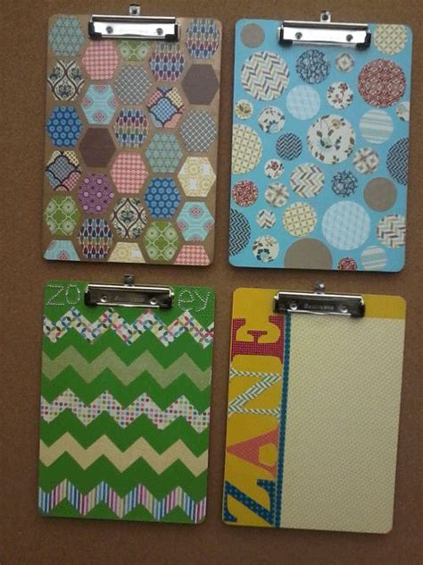 How To Decorate Clipboard by Best 25 Decorated Clipboards Ideas On