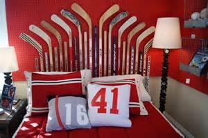 Toddler Hockey Bedroom Signet Scribe Bedroom Hockey Theme