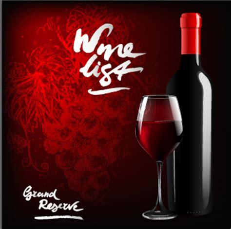 powerpoint templates free download wine dark red wine menu background vector 04 over millions