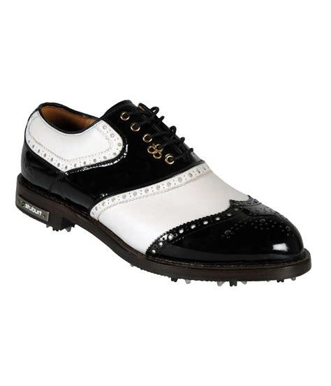 black golf shoes stuburt mens dcc classic golf shoes white black 2013