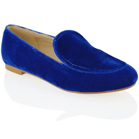velvet flat shoes womens flat loafers velvet slip on pumps work