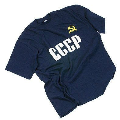 Tshirt Cccp Log russian t shirts cccp soviet blue t shirt the russian store