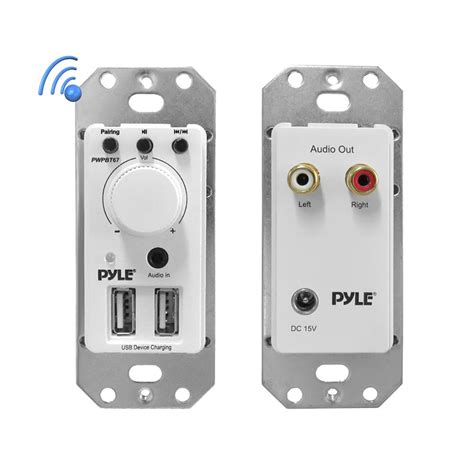 Bluetooth Device For Home Theater by Pylehome Pwpbt67 Tools And Meters Wall Plates In
