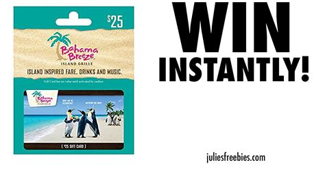 bahama breeze coupons printable bahama breeze reggage fest sweepstakes and instant win