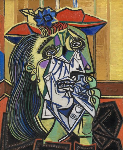 picasso s paintings watercolors drawings and sculpture work of the week pablo picasso s weeping tate