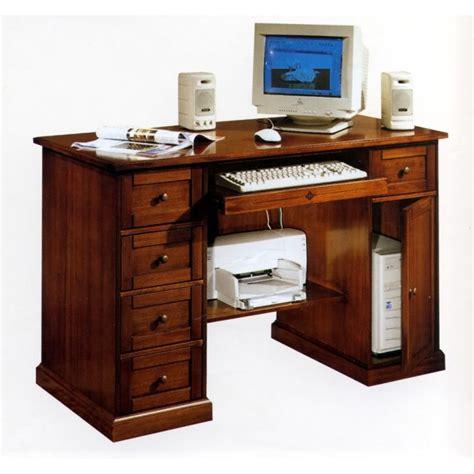 ebay scrivanie scrivania in legno porta pc im583 scrittoio scrivanie