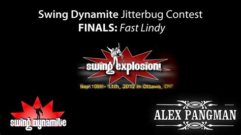 swing dynamite swing explosion 2012 vii edition jitterbug contest final