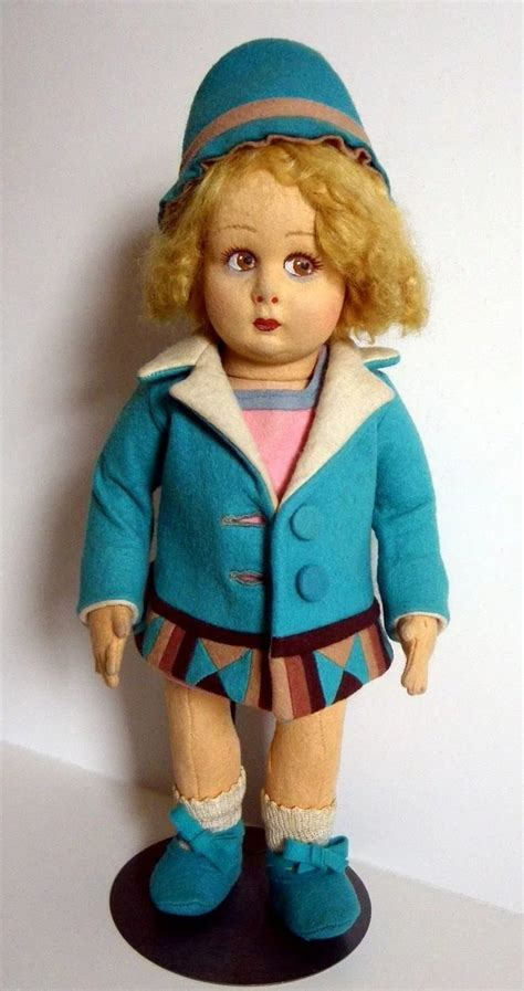 lenci doll pattern lenci doll with coat and hat s playthings