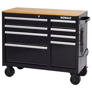 Kitchen Cabinets Nc by Shop Kobalt 34 5 In X 41 In 8 Drawer Ball Bearing Steel