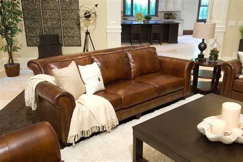 rustic black leather sofa furniture rustic two tone top grain leather sofa and