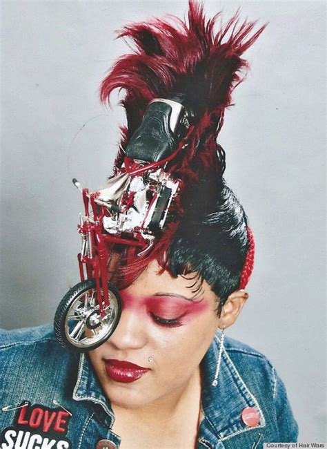 short hairstyles in detroit newsbuzzonlive hair wars showcases wild hairstyles for