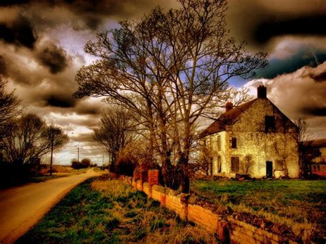country l country house wallpaper