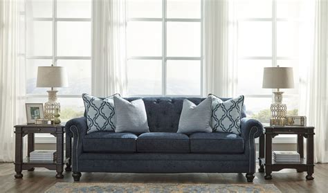 lavernia navy living room set 7130438 ashley lavernia navy sofa from ashley coleman furniture