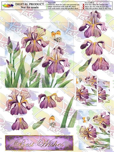 Free Decoupage Images - 5 best images of free printable for cards decoupage free
