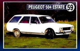 Peugeot 504 Estate Peugeot 504 Estate Photos And Comments Www Picautos