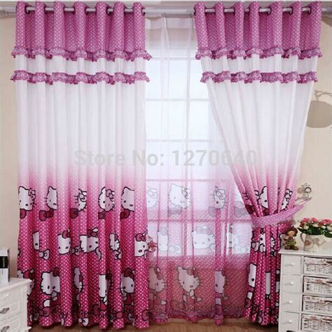 hello kitty window curtains shop popular hello kitty curtains from china aliexpress