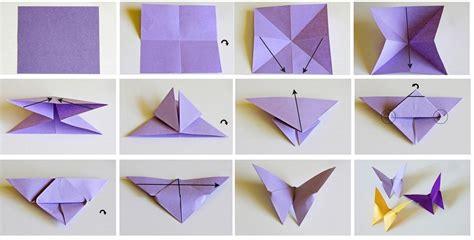 En Origami - mamy a la obra mariposas en origami