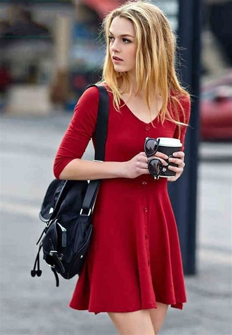 25 best ideas about red dress casual on pinterest boho