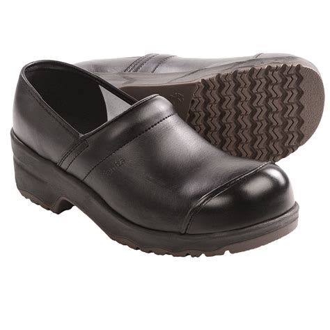 steel toe clogs for sanita leo protector clogs leather steel toe for