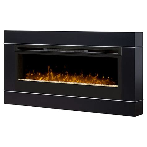Black Wall Mounted Electric Fireplace by Dimplex Cohesion Black Wall Mount Electric Fireplace