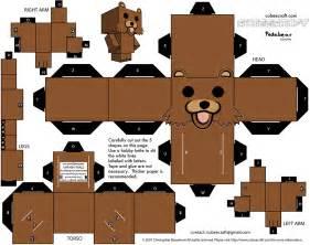 cybergata pedobear papercraft