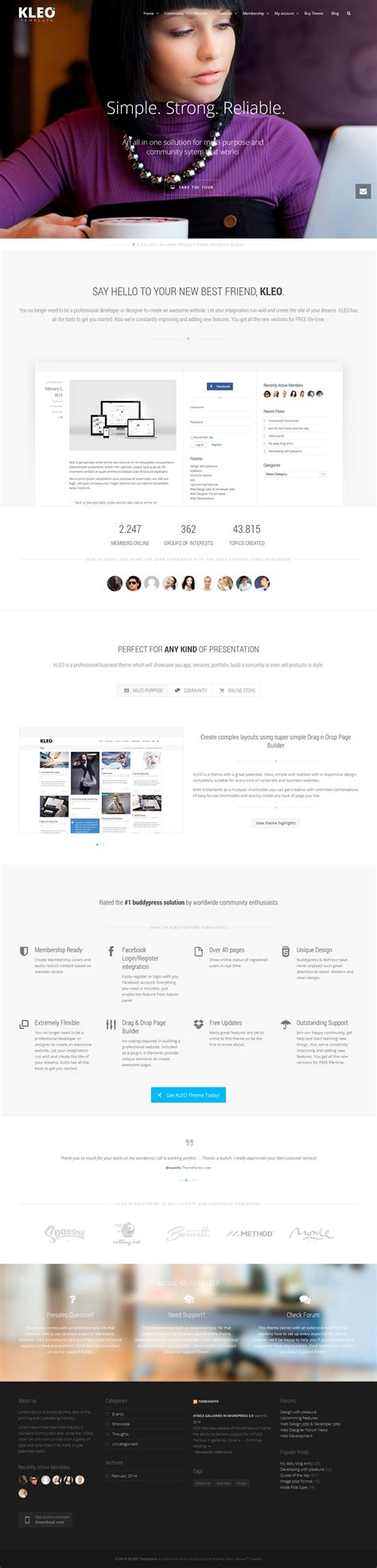 theme wordpress kleo kleo a premium buddypress wordpress theme free download