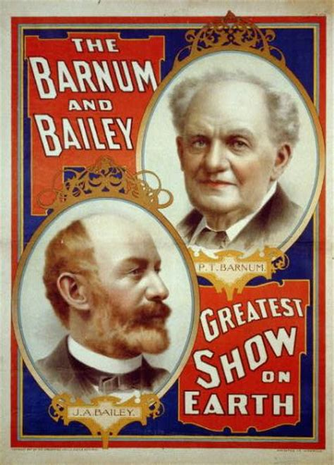 Barnes And Bailey Circus by P T Barnum An Entertaining Connecticuthistory Org