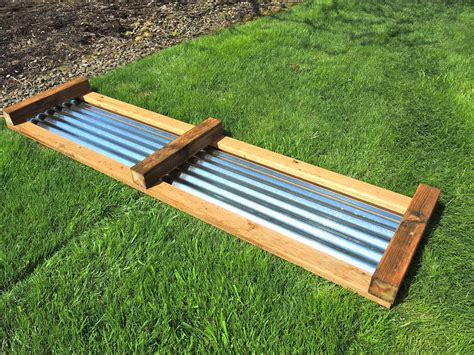 galvanized raised garden bed how to galvanized garden beds blueberry hill crafting