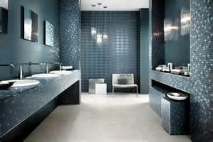Shiny bathroom tile by atlas concorde italian elegance in the bathroom interior design ideas