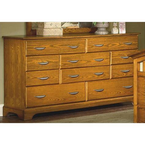Classic Dresser by 1517 050 New Classic Furniture 10 Drawer Dresser Honey