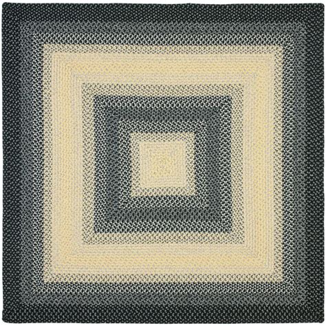 8 x 8 area rugs safavieh lyndhurst black ivory 8 ft x 8 ft square area rug lnh212a 8sq the home depot