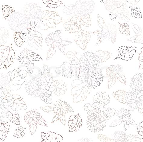 floral texture pattern vector beautiful flower vector illustration texture stock