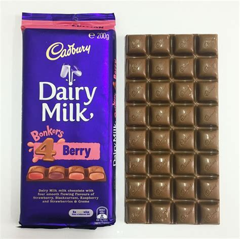 Cadbury Dairy Milk Bonkers 4 Berry best 25 cadbury dairy milk ideas on
