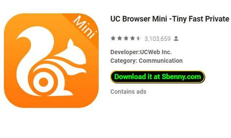 ucbrowser mini apk uc browser mini tiny fast secure apk for android free