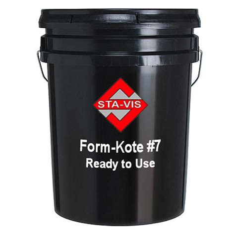 Ember Pail 1 5 Gallons sta vis formkote 7 5 gallon pail comolube