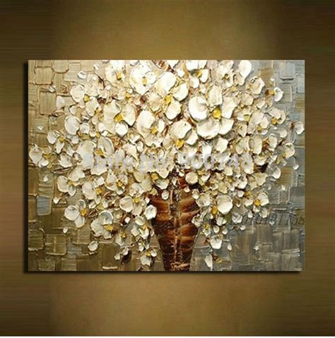 painting decor aliexpress buy paint knife abstract painting on canvas wall decor living room