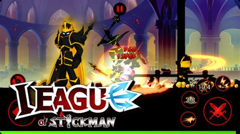 mod apk game league of stickman league of stickman 2017 mod apk unlimited latest free