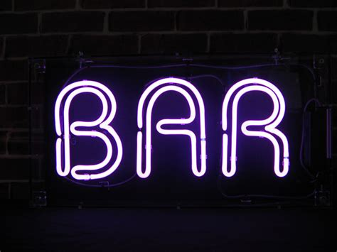 Neon Bar Lights by Bar Neon Sign Free Delivery