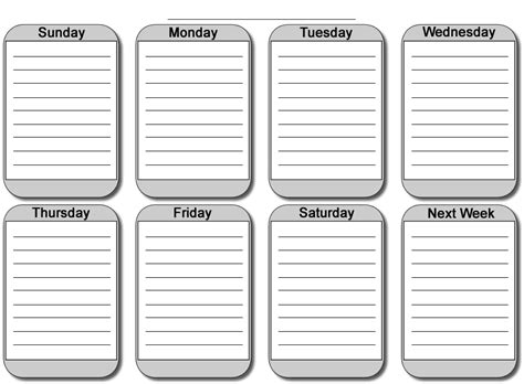 printable monthly daily calendar free printable weekly planners printable weekly planner