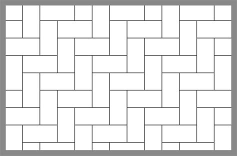 tile layout template tile and paver layout patterns inch calculator