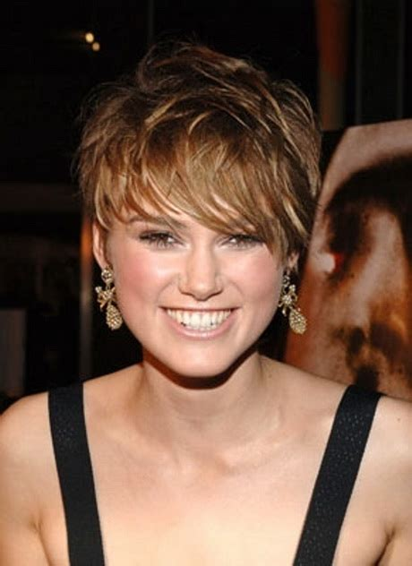short hairstyles for round face fine hair short hair styles for round faces and thin hair