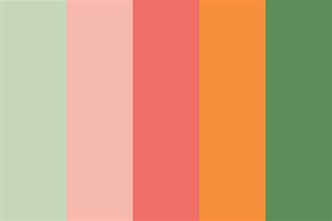 color palettes light spring color palette