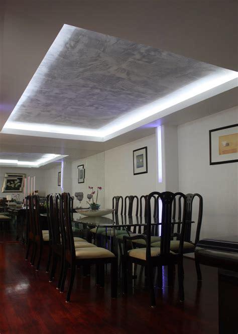 imagenes plafones minimalistas plafones decorativos de tablaroca iluminaci 243 n con focos