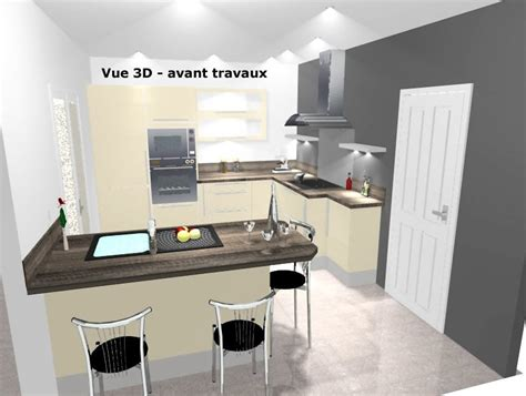 amenagement cuisine 10m2 plan amenagement cuisine 10m2 photos de conception de