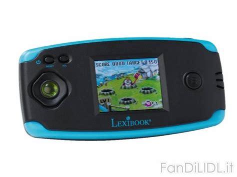 console giochi per bambini console lcd 1 8 lexibook per bambini fan di lidl