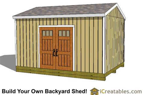 Garden Shed Plans 12x16 by Product Details Sku Shed12x16 G