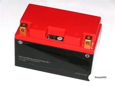 Motorrad Batterie Lithium Ionen Laden by Lithium Ionen Batterie F 252 R Ytx9 Bs Ytr9 Bs Mit