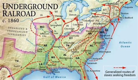 underground railroad map underground railroad underground to canada