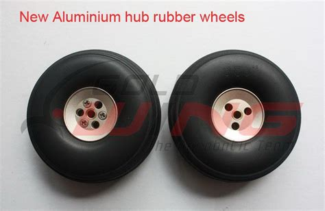 Rubber Wheel For Rc Airplane Model And Diy Robot Tires 45mm goldwing 300lp 50cc v4 88 2235mm aerobatic rc airplane new arf id 952354